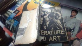MAO TSE-TUNG On Literature and Art   毛澤東論文學藝術 (四十年代外文原版)