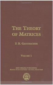 The Theory of Matrices Vol 1
