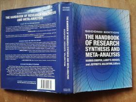 THE HANDBOOK OF RESEARCH SYNTHESIS AND META ANALYSIS