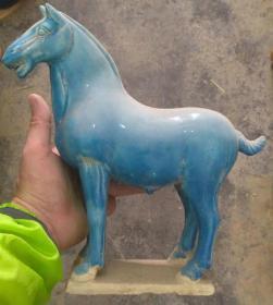唐三彩陶瓷战马