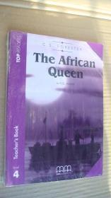 (TOP READERS level 4 Teacher's book )The African Queen (Book including students book,multilingual glossary,Audio CD,teacher' book) 两本书 塑封未折