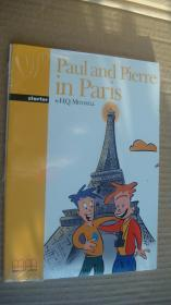 (Graded readers:Starter) Paul and Pierre in Paris (Pack including reader,activity book, Audio CD) 两本书夹1张CD 塑封未折