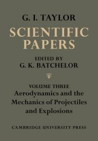 The Scientific Papers of Sir Geoffrey Ingram Taylor 4 Volume Set
