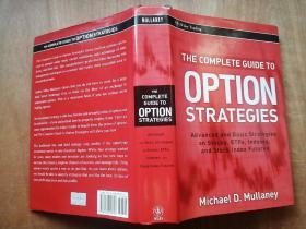THE COMPLETE GUIDE TO OPTION STRATEGIES【精装厚册】