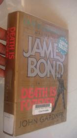 JAMES BOND IN DEATH IS FOREVER 精装+书衣 20开