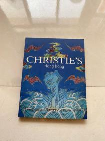 CHRISTIES Hong Kong:Fine Chinese Ceramics and Works of Art 香港佳士得2004中国瓷器及艺术品拍卖会