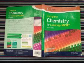 Complete Chemistry for Cambridge IGCSE Third Edition(附光盘)