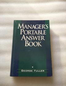 MANAGERS PORTABLE ANSWER BOOK