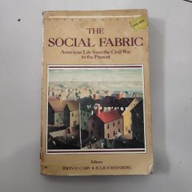the social fabric:american life from the civil war to the present【小16开英文原版如图实物图】
