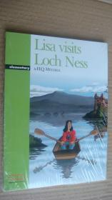 (Graded readers Elementary) Lisa visits Loch Ness (Pack including Reader.Activity Book.Audio CD) 24K书带CD 塑封未折
