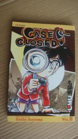 CASE CLOSED (VOL 2) 日本漫画, 英文版 美国印制出版 32开