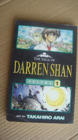 THE SAGA OF DARREN SHAN (VOL 1) 日本漫画, 英文版 英国印制出版 大32开
