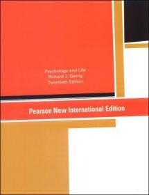 (进口英文原版)Psychology & Life(20th edition)