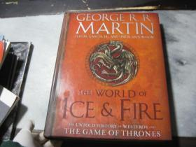 GEORGERR MARTIN THE WORLD OF ICE&FIRE