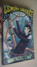 Lemony Snicket (A Series of Unfortunate Events) 3#:THE WIDE WINDOW 英文原版大32开