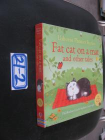 Fat Cat on a Mat and Other TALES 彩绘本 【附原书CD】 21-2