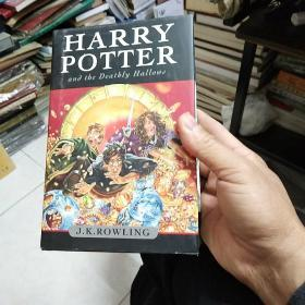Harry Potter and the Deathly Hallows U.K Adult Edition:Dasha补:加拿大Hardcover版