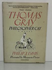Thomas Gray: Philosopher Cat by Philip J. Davis (数学)英文原版书