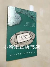 【预定】Fun Home A Family Tragicomic by Alison Bechdel 英文版