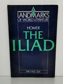 荷马史诗:伊利亚特 The Iliad Landmarks of World Literature (Cambridge University Press 1987年版)(古希腊文学)英文原版书