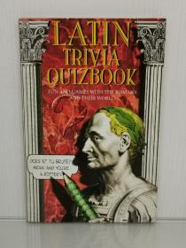 趣味罗马史 Latin Trivia Quizbook :Fun and Games With the Romans and Their World by Lea Chambers (罗马史)英文原版书