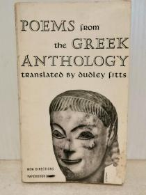 古希腊诗歌精选集 Poems from the Greek Anthology (古希腊)英文原版书