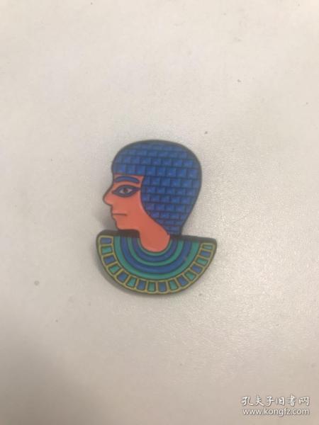 广东省博物馆埃及文物展《尼罗河畔的回响》文创周边 纪念胸针