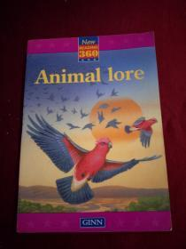 NEW READING 360  Animal lore  绘本