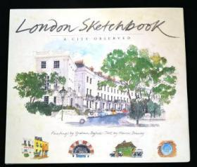 伦敦城市旅行写生水彩速写 London Sketchbook Fabrice Moireau