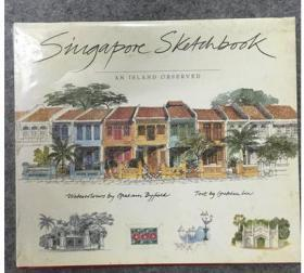 新加坡城市水彩速写 Singapore Sketchbook Fabrice Moireau