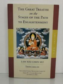 The Great Treatise on the Stages of the Path to Enlightenment (Volume 3) (The Great Treatise on the Stages of the Path, the Lamrim Chenmo) by Tsong-Kha-Pa (藏传佛教)英文原版书