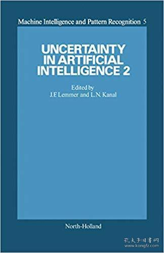 【精装英文原版】Uncertainty in Artificial Intelligence 2