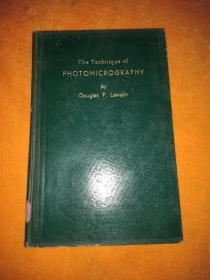 The  Ttechique  of  Photomicrogiophy  显微照相技术