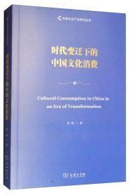 时代变迁下的中国文化消费/中国文化产业研究丛书