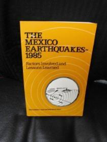 The Mexico Earthquakes, 1985: Factors Involved And Lessons Learned: Proceedings Of The Internatio...