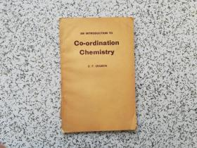 An Introduction to Co-ordination Chemistry