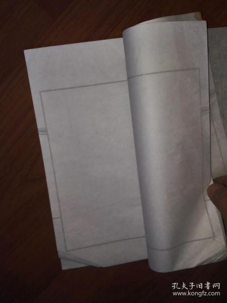景楠印谱一本(有三页有印章,其它页空白,为宣纸线装)
