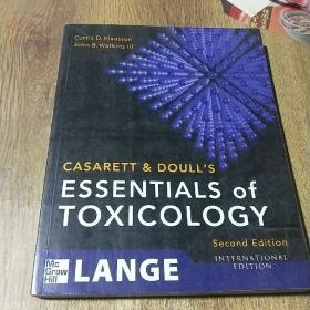 CASARETT&DOULL'S ESSENTIALS OF TOXICOLOGY