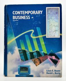 Contemporary Business (Fifth Edition) 英文原版《当代商业》(第五版)
