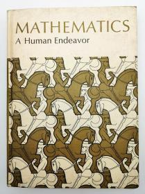 Mathematics, A Human Endeavor: A Textbook for Those who Think They Don't Like the Subject by Harold R. Jacobs 英文原版《数学:人类的努力》