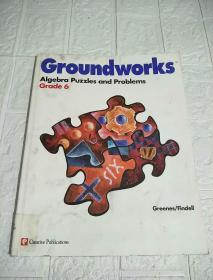 Groundworks Algebra Puzzles and Problems (Grade 6)品看图