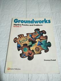Groundworks Algebra Puzzles and Problems (Grade 4)