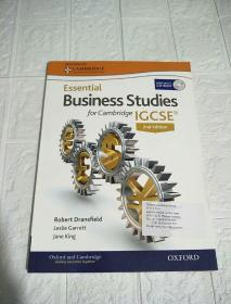 Essential Business Studies  for Cambridge IGCSE 2nd Edition (附光盘)