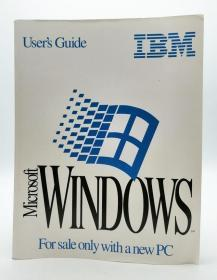 Microsoft Windows User's Guide 英文原版《Microsoft Windows用户指南》