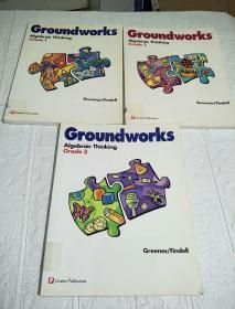 Groundworks Algebraic Thinking (Grade1、2、3)三本合售