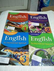 Oxford English: An International Approach (1、2、3、4)四本合售