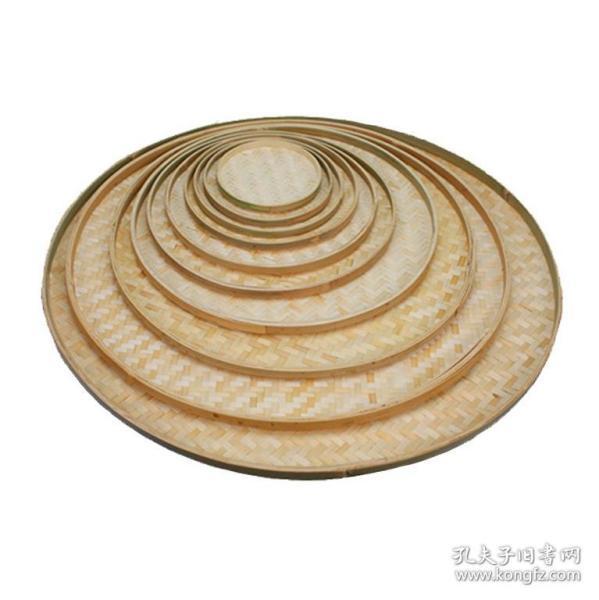 可绘图用的圆竹簸箕竹筛子直径100厘米的
