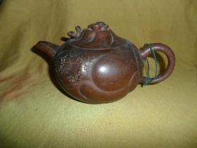(Xiao Su section) Old dragon pattern purple sand pot