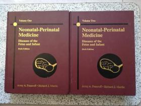 Neonatal-Perinatal Medicine: Diseases of the Fetus and Infant (Sixth Edition) Volume 1、2    精装本   全两册  馆藏