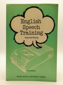 English Speech Training 英文原版《英语发音练习法》Third Edition